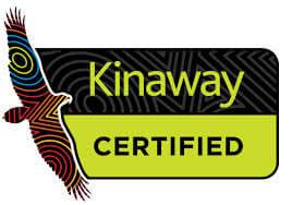 Kinaway Certified logo